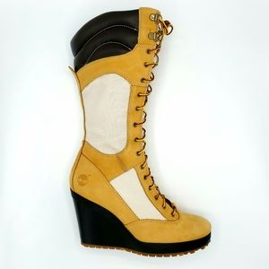 """NEW TIMBERLAND FEMMES 14"""" SPRING POINT BOOTS 8M"""